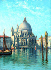 View of Venice by C. Myron Clark (American, 1876-1925)