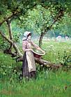 """In the Orchard"" by Ferdinand E. Grone"