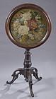 Fine Victorian Needlepoint Tilt Top Table