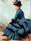 Sarah Paxton Ball Dodson (American 1847-1906)