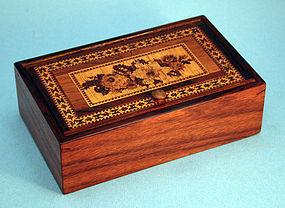 Tunbridge Ware Trinket Box
