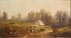 Landscape Painting by Thomas Bigelow Craig  (American (1849-1924)