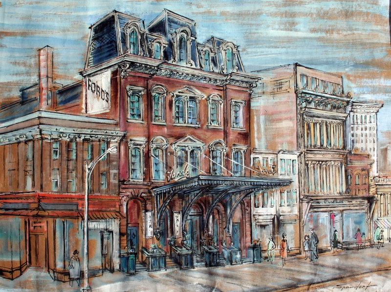 Ford's Theatre, Washington D.C. by Lily Spandorf