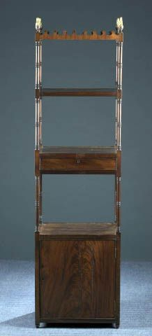 Antique English Regency four tier Etagere
