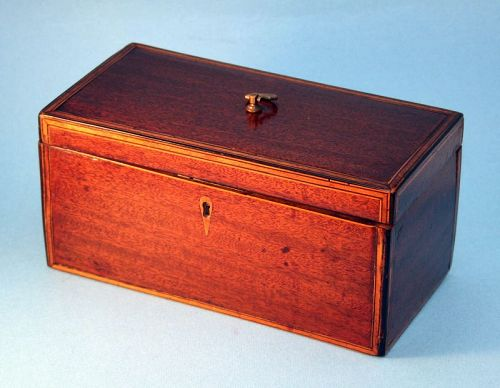 Antique English Tea Caddy
