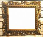 Antique Italian Openwork Carved and Gilt Mirror