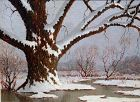 Tree in Winter, Anacostia by  Benson Bond Moore (Am. b. 1882)