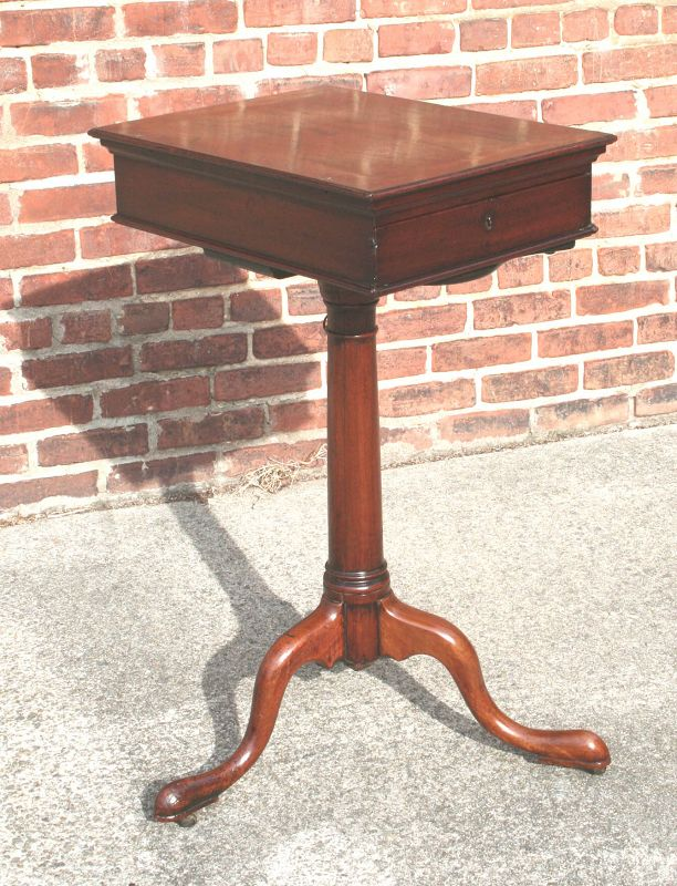 Rare George II Adjustable Height Writing Stand