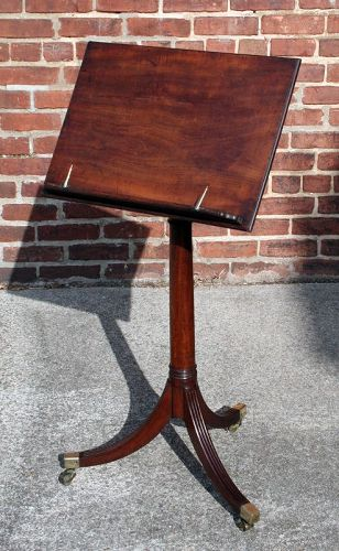 ENGLISH REGENCY ADJUSTABLE MUSIC STAND