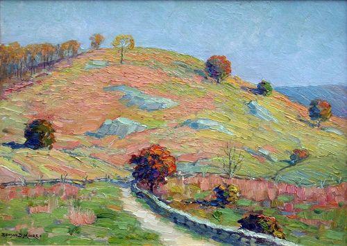 Landscape by Benson Bond Moore (American 1882-1974)