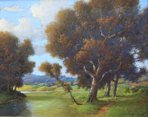 Luray Virginia by Benson Bond Moore (American 1882-1974)