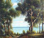 Chesapeake Bay Landscape by Benson Bond Moore (American 1882-1974)