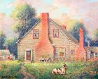 House in Rural Maryland by Benson Bond Moore (American 1882-1974)