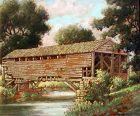 Pennsylvania Covered Bridge by Benson Bond Moore (American 1882-1974)