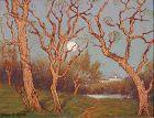 Washington D.C. Landscape by Benson Bond Moore (American 1882-1974)