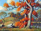 Maryland Landscape by Benson Bond Moore (American 1882-1974)
