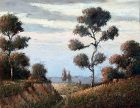 North Carolina Landscape by  Benson B.Moore (American 1882-1974)