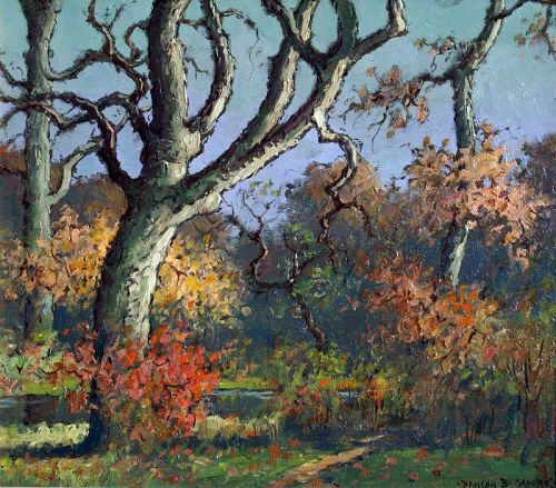 Virginia Landscape by Benson Bond Moore (American 1882-1974)