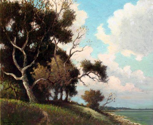 Chesapeake Beach, Maryland by Benson Bond Moore (American 1882-1974)