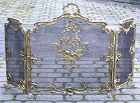Antique French Ormolu Firescreen