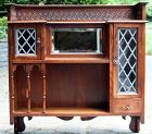 Antique American Arts and Crafts Hanging Cabinet