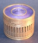 French Gilt Bronze and Guilloche Enamel Dresser Box