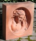 Large Art Noveau Terra-cotta Architectural Element