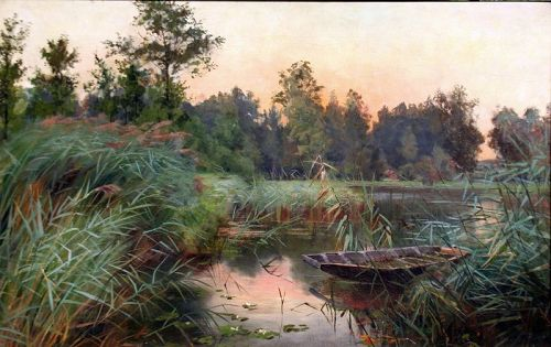 Bulrushes by Hélène Franck (English, 19th Century)