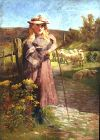 The Pensive Shepherdess