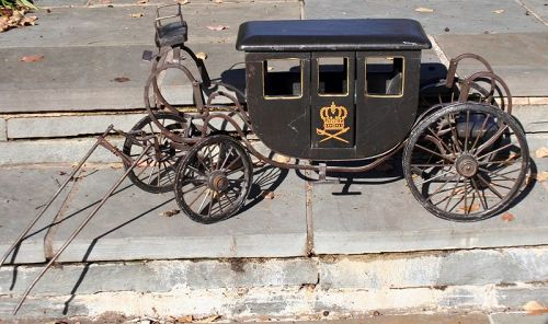 Handmade Model of a Royal Coach
