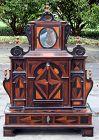 Rare Small Dutch Marquetry Collectors Cabinet