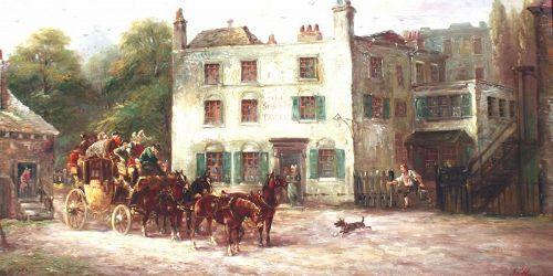 John Charles Maggs.(British,1819 - 1896 )