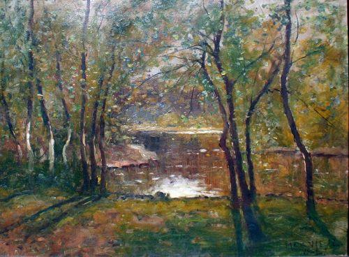 Springtime in Rock Creek by Max Weyl
