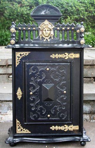 Antique Classical Desk Cabinet