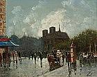 Paris Street Scene by Iya B. Novi (Russian)