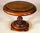 Miniature Victorian Circular Center Table
