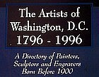 The Artists of Washington, D.C. by Virgil McMahan  (ONLY 2 LEFT)