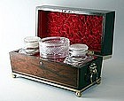 Exceptional English Regency Tea Chest