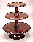 Rare Antique Tabletop Dumbwaiter