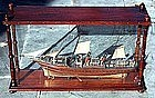 Antique Wooden Ship Model