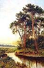 Near Godalming, Surrey by B.W. Leader