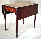 English Regency  Pembroke Table