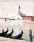 Venice by Luce Tullat (French, 20th C.)