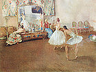 Ballet Print by William Russell Flint