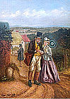 The Postman by John Dawson Watson (British, 1832-1892)