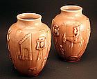 Pair of Rookwood Vases