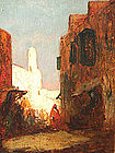 Street in Cairo by Henri Gaston Dagnac-Riviere
