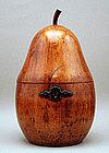 Rare 18th century Pear-form Tea Caddy
