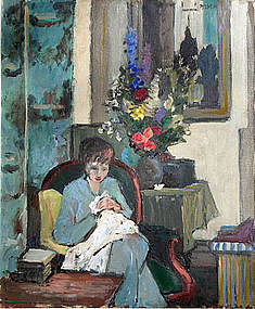 Summer Interior by Charles McCall