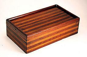 Antique American Traveling Box
